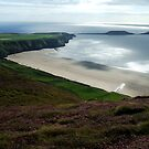 Rhosilli Hill by Lucy Adams