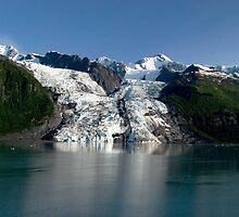 College Fiord Glacier by KathleenRinker