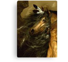 Shikoba - Choctaw Horse  Canvas Print