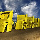 Yellow Caddys by Sherry Adkins