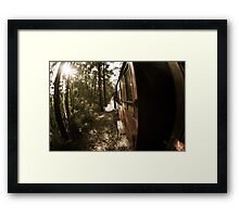 Blast From The Pass Framed Print