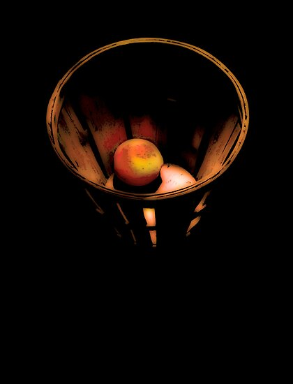 Peach Basket 2 by Jay Gross