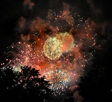 sparkles in the sky 3 by Kara Brink