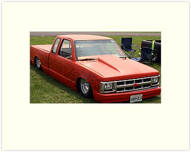 chevy s10 lowrider by matthew hutzell redbubble. Black Bedroom Furniture Sets. Home Design Ideas