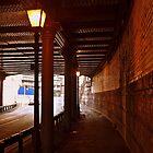 Bright light City street by Steve plowman