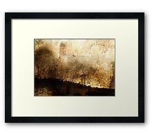 Stealing The Wind Framed Print