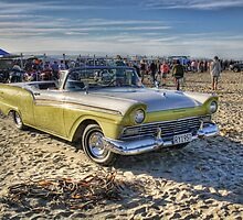 Fairlane Convertible, Oreti Beach by Tony Burton