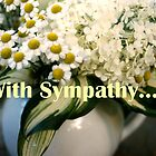 White Bouquet, for Sympathy by Betty Mackey