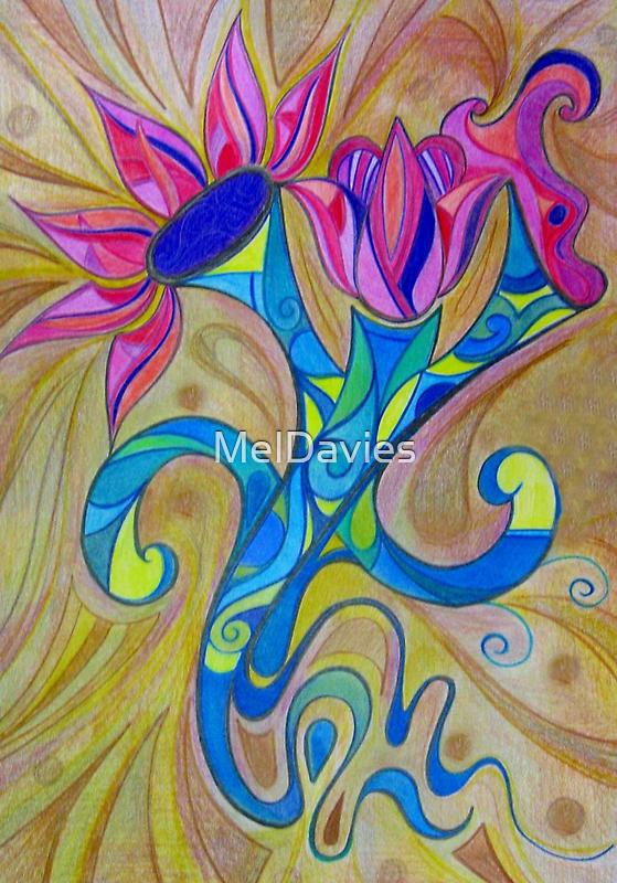 Trumpet Flower by MelDavies