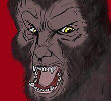 The big bad wolf by stitchgrin