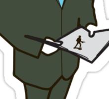 Mr Business  Sticker