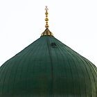 The Green Dome - Medina by MuhammadAtif