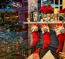 Reflections of Christmas by pat gamwell