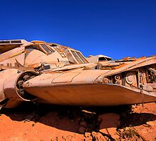 The Spaceship - Coober Pedy by Hans Kawitzki