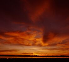 Flaming Sky by indianne