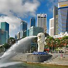 Singapore, Merlion by Adri  Padmos