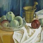 Green apples by Elena Oleniuc