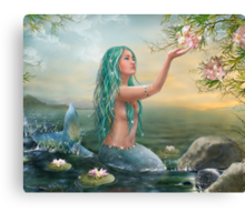 Mermaid Ariel Canvas Print