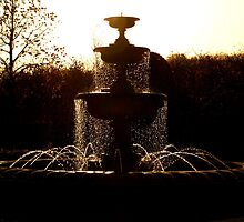 Autumn: Fountain in Regents Park by JLaverty