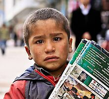 Magazine boy or Tears for survival by ulaums