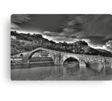 Ponte della Maddalena aka Devil's Bridge Canvas Print
