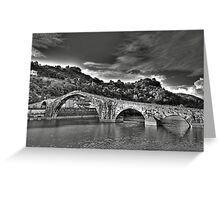 Ponte della Maddalena aka Devil's Bridge Greeting Card