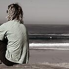 Waiting for better surf by Kate Kohaly