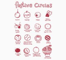 Festive Circles by lauriepink