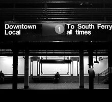 New York Subway 103rd Street by Division