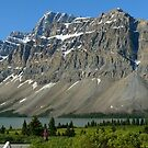 Bow Lake 25, Crowfoot Mountain...a GigaPan panorama by Darbs
