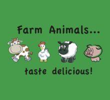 Farm Animals Taste Delicious T-Shirt