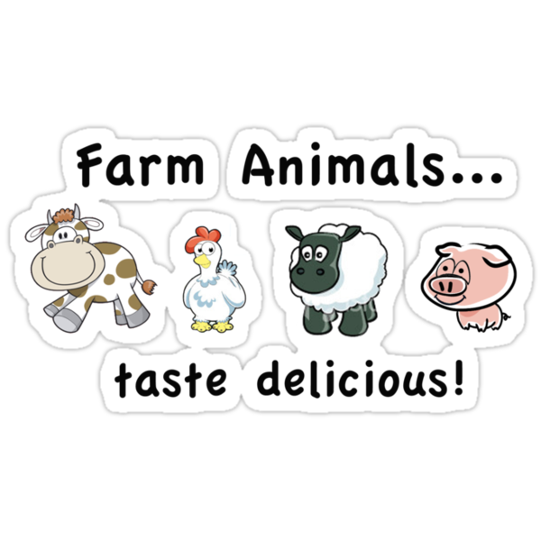 Farm Animals Taste Delicious by antsp35