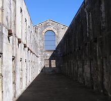 Trial Bay Gaol 2nd wing. by Rita Blom