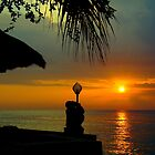 Sunset in Senggigi by myrbpix