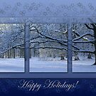 Reaching far - holidays greeting card by steppeland