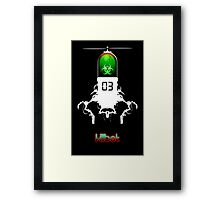 Killbot 03: Bitter Pill Framed Print