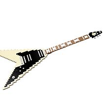 """Lego """"V-style"""" guitar by geekmorris"""