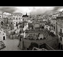 Sassi di Matera in Black and White by tunibbles