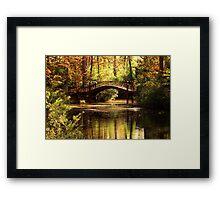 Crim Dell Bridge 2 Framed Print