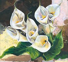 Callas - One of my Favorite Flowers by Elisabeta Hermann