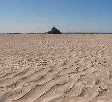 Bay of Mont St. Michel - Normandy, France by MissOlivia
