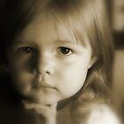 Little Girl Feeling Sad by Evita