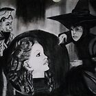 WIZARD OF OZ WITCHES CRYSTAL BALL by JoAnnHayden