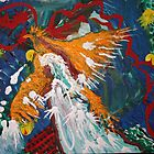 Phoenix Rising  acrylic on canvas   8x10 by eoconnor