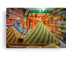 Jerusalem Spice Merchant  Canvas Print