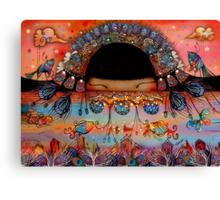 The Peacock Empress  Canvas Print