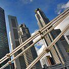 Singapore, abstract by Adri  Padmos