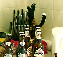 Beer and Knives by tmac