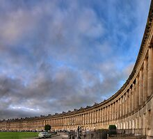 Bath Royal Crescent by Mat Mackenzie