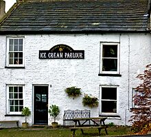 Ice Cream Parlour - Reeth. by Trevor Kersley